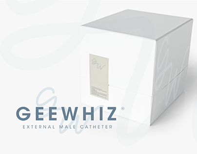 Visual identity | GEEWHIZ: External Male Catheter
