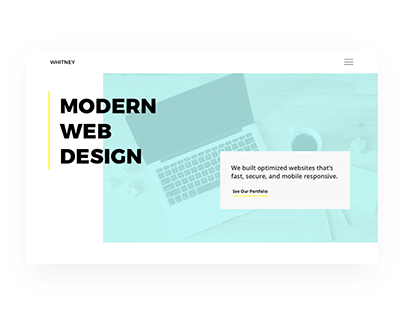Whitney - Agency Web Design