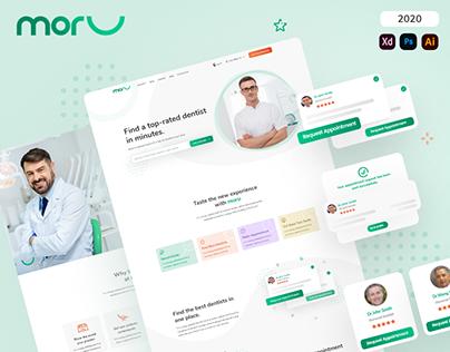 Moru Website (Dental Online Booking)