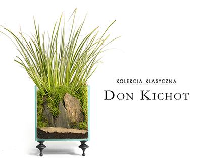 Don Kichot - miniature interior gardens