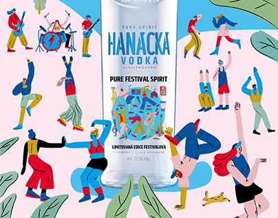 Limited summer edition Hanácka Vodka
