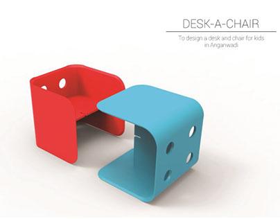 DESK-A-CHAIR