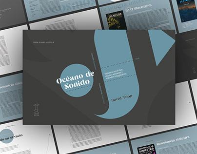 Océano de Sonido | Presentación editorial digital