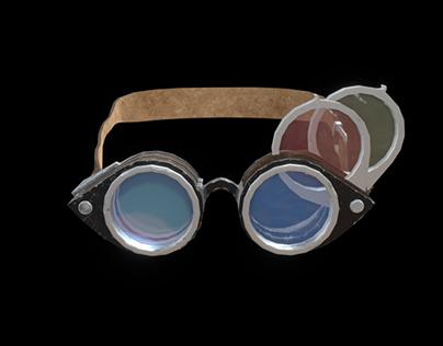 Tri-lense Goggles