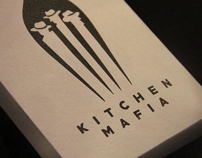 LOGO DESIGN - KITCHEN MAFIA CAFE
