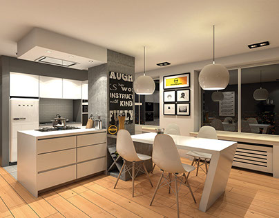 Modern Kitchen | New Renovation 3D Project @Epigraph