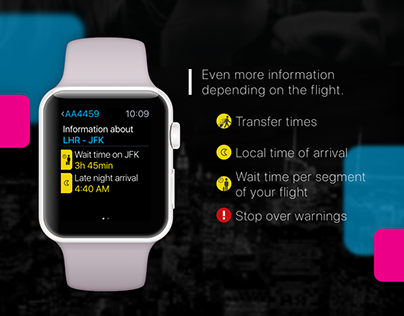 Airtickets Apple Watch application