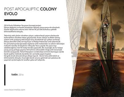 POST APOCALIYPTIC COLONY - DESERT, SOMEWHERE