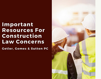 Important Resources For Construction Law Concerns