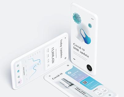 Covid-19 Application - Mobile App