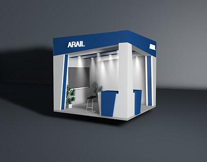 Arail booth