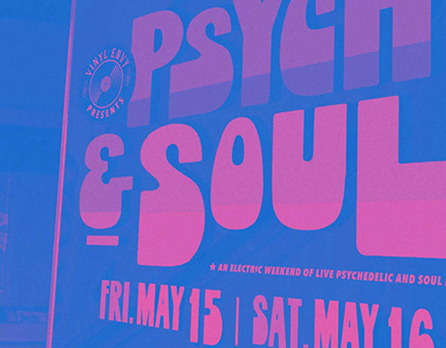 Psych & Soul Event Advertising