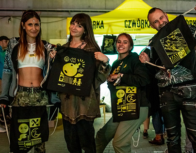 Czwórka × Up To Date Festival Bags