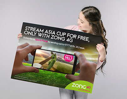 Zong - Asia Cup Live Streaming