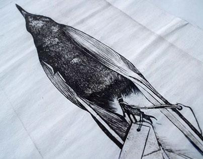 Etchings/ Realism drawings