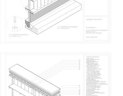 materials & assembly