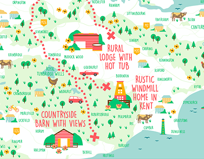 London Map, Airbnb