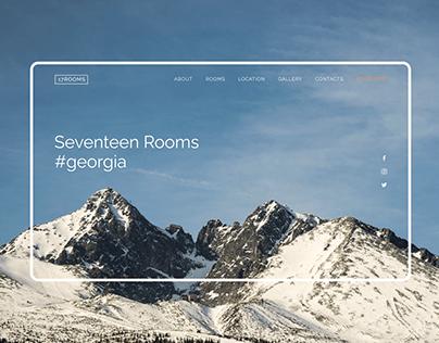 17ROOMS Hotel — Website Design