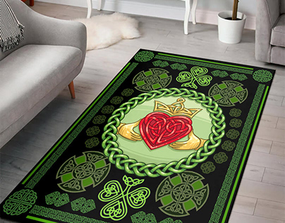 St Patrick's Day Rugs by 90 LoveHome on Behance