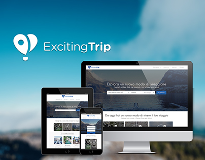 Exciting Trip | Travel blog experience design