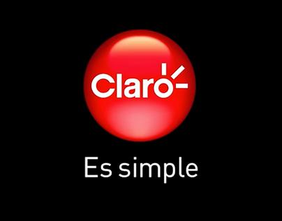 DISEÑO Y REALIZACIÓN PARA COMERCIAL CLARO/ realization