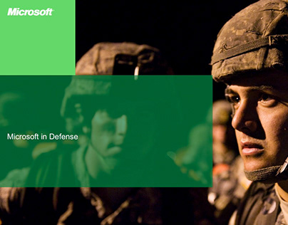 Microsoft Public Sector Defense Template