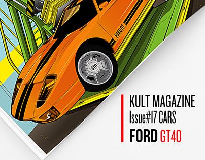 Kult Magazine #17 CARS: FORD GT40