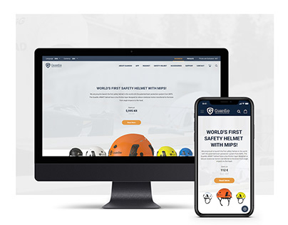 Web Design: Guardio Safety