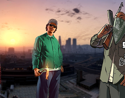 Art de Game GTA San Andreas Atualmente
