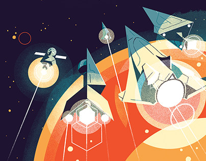 Inventing the future of space