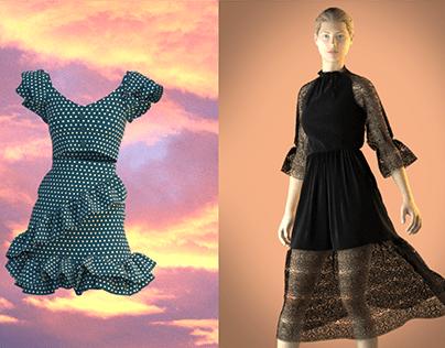 Women's wear designs in clo3d