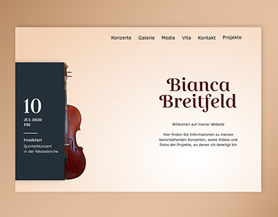 Cellist - Homepage