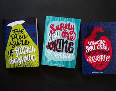 FEYNMAN BOOKS COVERS