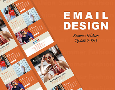 Summer Fashion Email Design
