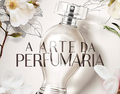 Boticário . Arte da Perfumaria