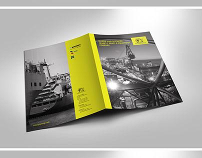 Brochure design for oil company
