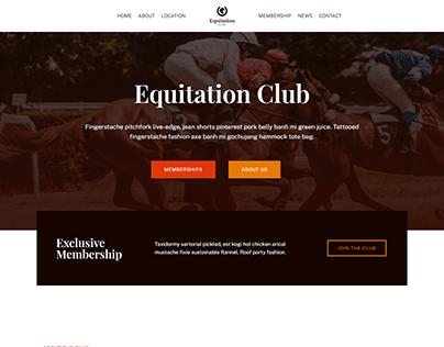 Club Wordpress website design | Elementor pro