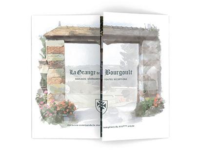 Plaquette commerciale la grange de Bourgoult