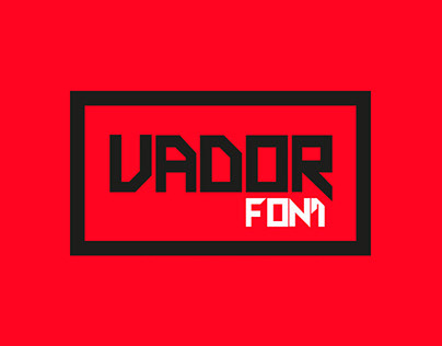 VADOR font
