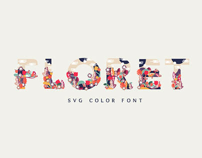 Floret Color Fonts