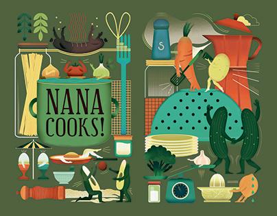 Illustration for cookbook cover