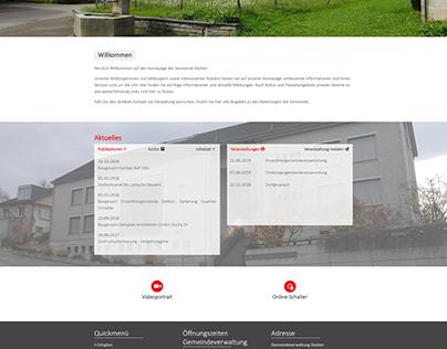 Szwajcarska gmina Stetten w kantonie Argowia, w okręgu