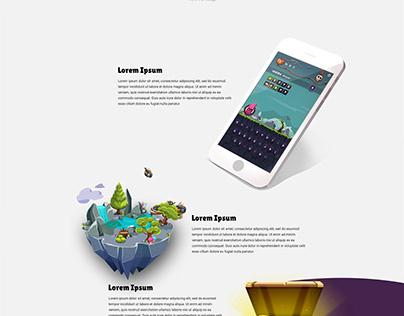 Landing Page | Mobile Game