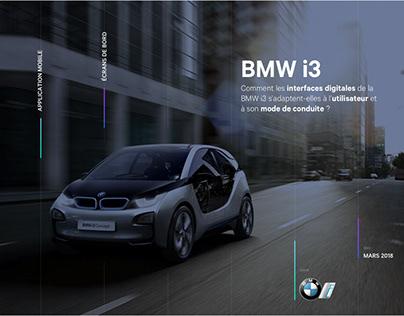 BMW i3 - Dashboards & Application
