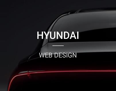 Hyundai Motor Website Design