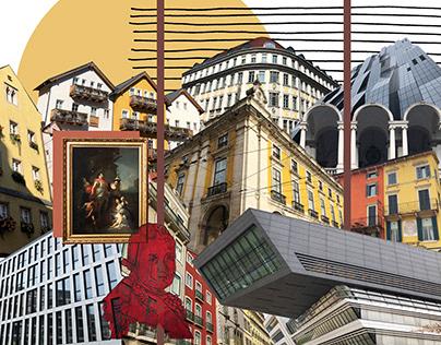 'Embrace' -Digital Collage Work