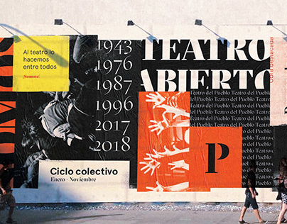 Teatro del Pueblo | Brand Identity