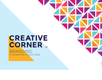 Craetive corner branding