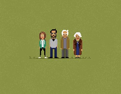 Family Business / Pixel Art