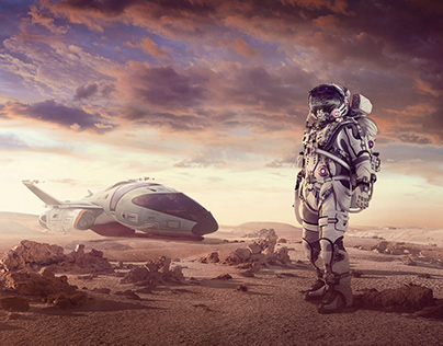 DISCOVERY WORLDS - MATTE PAINTING